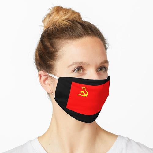 UdSSR Sowjetunion Flagge Fahne Rote Armee Russland Maske