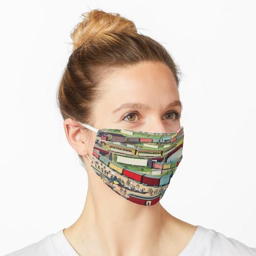 Antiker Zug Maske