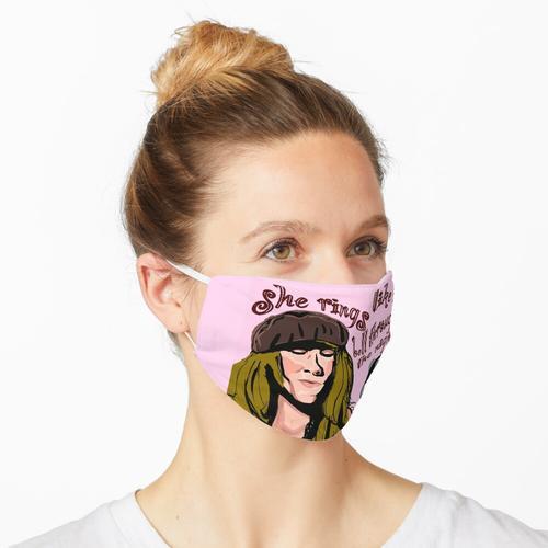Sie klingelt Maske