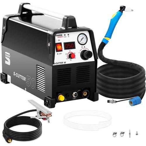 Plasmaschneider Plasmaschneidegerät Cut 50 Ampere 230 Volt Druckluft Stamos