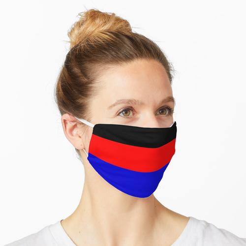 Ostfriesische Flagge Maske