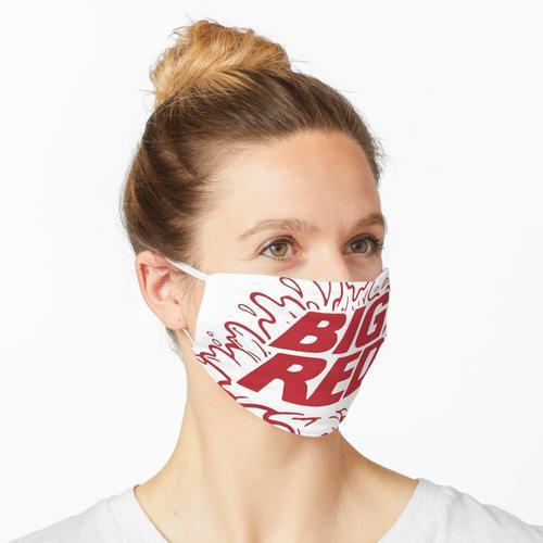 GROSSES ROT 2 Maske