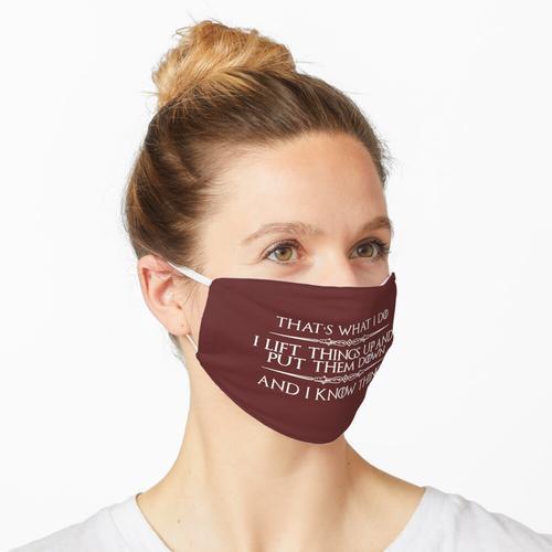 Gürtel Maske