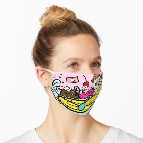 Bananenpiraten Maske