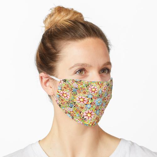 Boho Chic Millefiori Maske