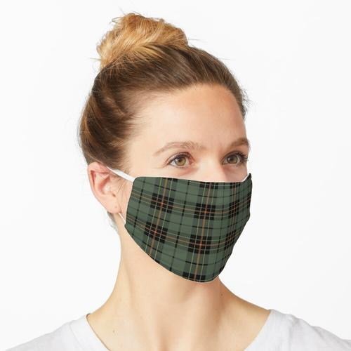 Schottisches Plaid 9 Maske