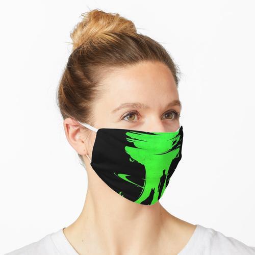 Radioaktive Strahlung Maske