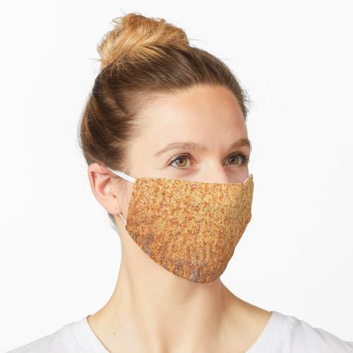 Rostige alte Grilltrommel Maske
