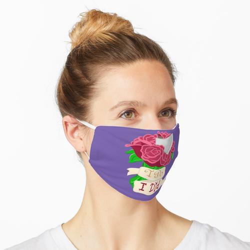Bis, dass der Tod uns scheidet Maske