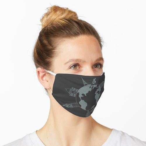Rollstühle nehmen Orte (für dunkle Farben) Maske