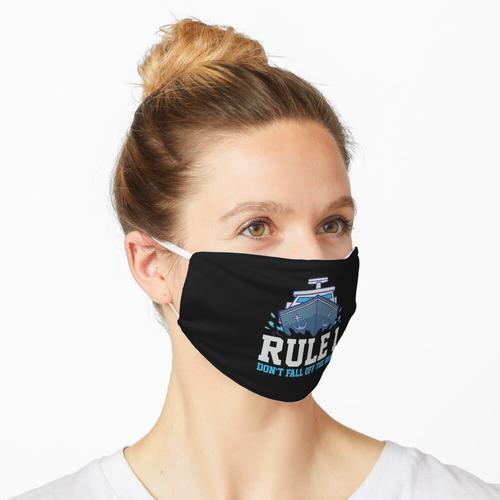 Schiffskapitän-Kreuzfahrt Maske