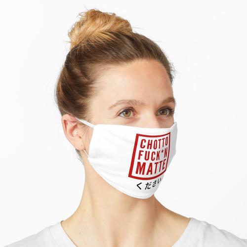 CHOTTO fxxkin MATTE Maske