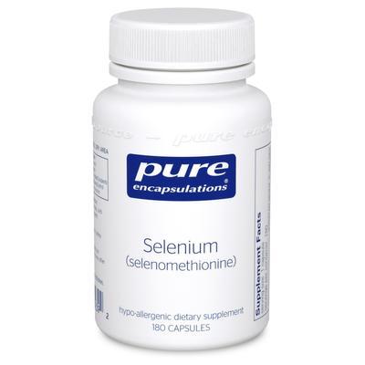 Pure Encapsulations Selenium (Selenomethionine) 180 Capsules