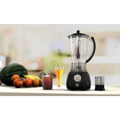 Blender et moulins à café 2en1 Herzberg HG 5008 : Blanc