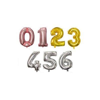 Ballon anniversaire : Chiffre 0 ...
