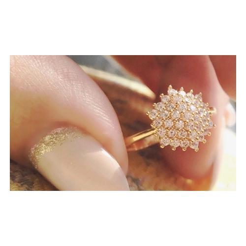 Ah! Jewellery Gold-Ring: Gr. P-Q