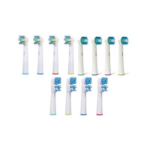 Ersatz-Zahnbürstenköpfe: Dual /12er-Pack
