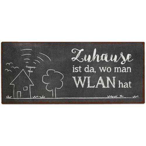 """JAKO-O Deko-Schild """"WLAN"""", schwarz"""