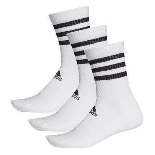 adidas Socken 3er-Pack, weiß, Gr. 31 - 33