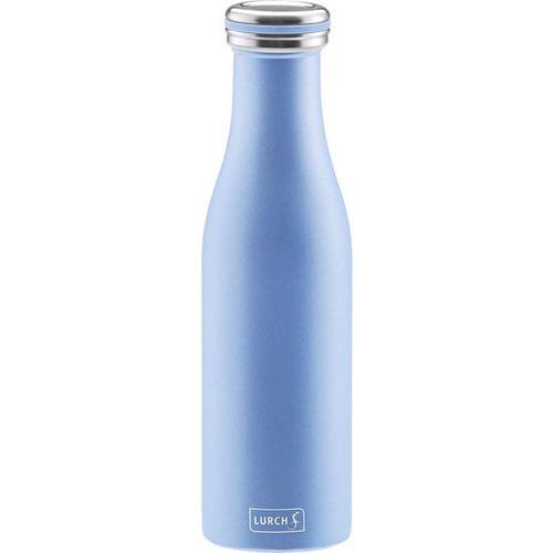 Isolierflasche Edelstahl, blau