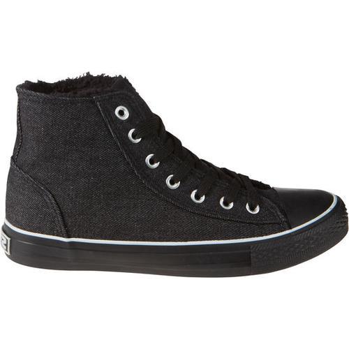 Schuh gefüttert, schwarz, Gr. 34