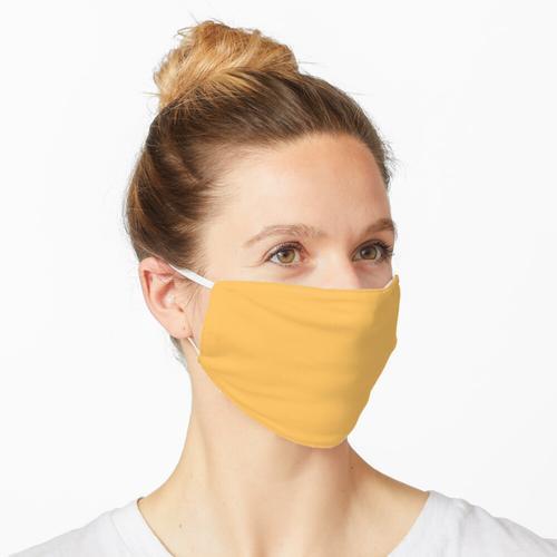 Festes Gelb Maske