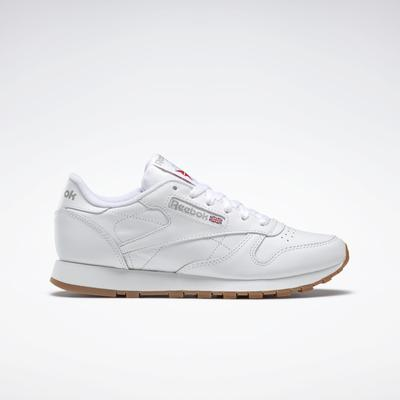 Reebok Women's Classic Leather Shoes in White Size 7 - Lifestyle Shoes