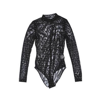 Talbots Bodysuit: Black Tops - S...