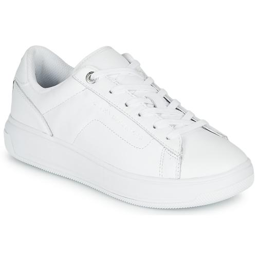 Tommy Hilfiger LEATHER TOMMY HILFIGER CUPSOLE Sneaker (damen)