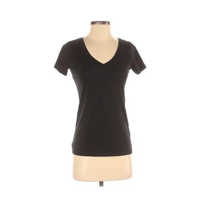 Uniqlo Short Sleeve T-Shirt: Bla...