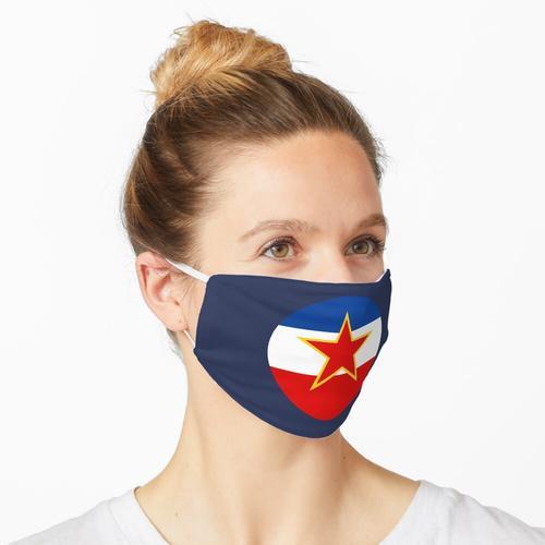 Ex Jugoslawien - Jugoslawien Flagge Maske