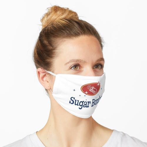 Sugar Bombs Logo (BlueandRed) Maske