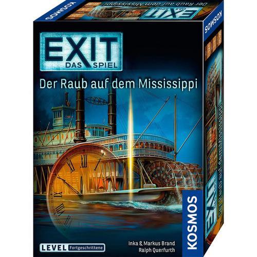 EXIT Das Spiel – Der Raub auf der Mississippi, bunt