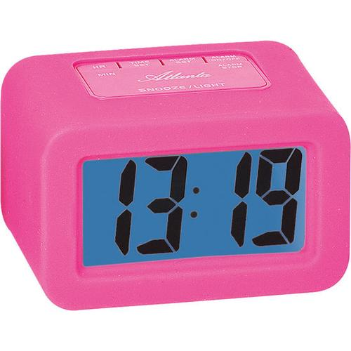 JAKO-O LCD-Wecker, pink