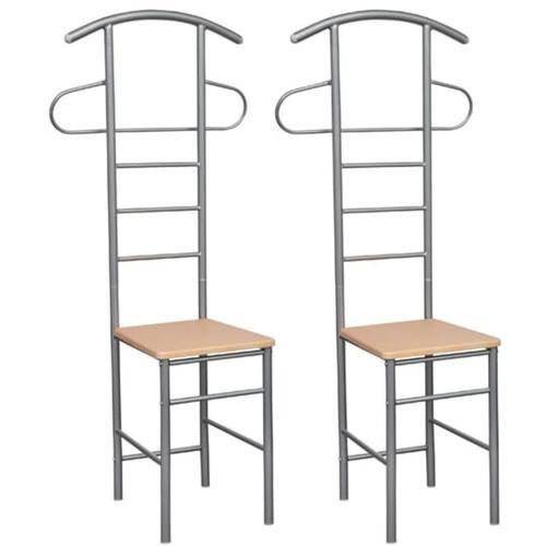 Herrendiener Stuhl (2 Stück) Stummer Diener Esszimmerstühle