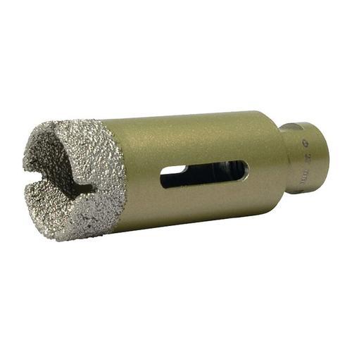 Diamantbohrkrone D. 15 mm Länge 70 mm geeignet für Fliesen / Granit / M - Promat