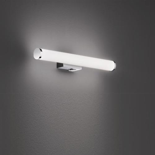 TRIO Mattimo LED Wandleuchte B: 40 H: 5,5 T: 8 cm, chrom 283270106, EEK: A+