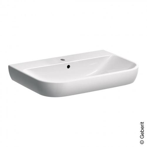 Geberit Smyle Waschtisch B: 70 T: 48 cm weiß, mit KeraTect 500248018