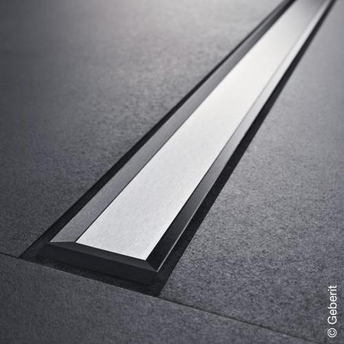 Geberit CleanLine 20 Duschrinne edelstahl dunkel / edelstahl gebürstet, für Duschrinne: 30 - 90 cm 154450001