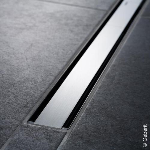 Geberit CleanLine 60 Duschrinne edelstahl dunkel / edelstahl gebürstet, für Duschrinne: 30 - 130 cm 154457001