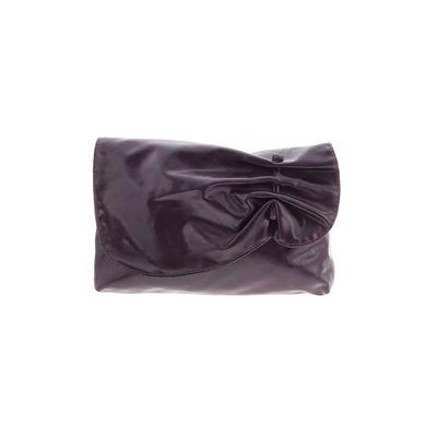 Clutch: Purple Solid Bags