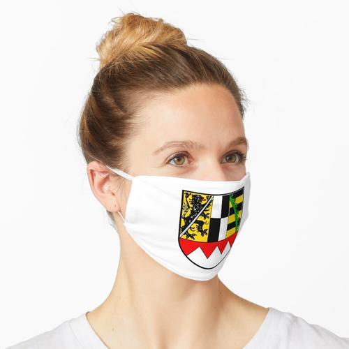 Wappen von Oberfranken, Deutschland Maske