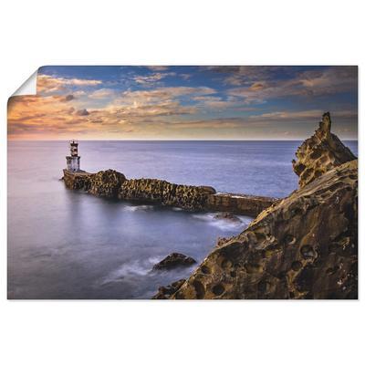 Artland Wandbild Leuchtturm im N...