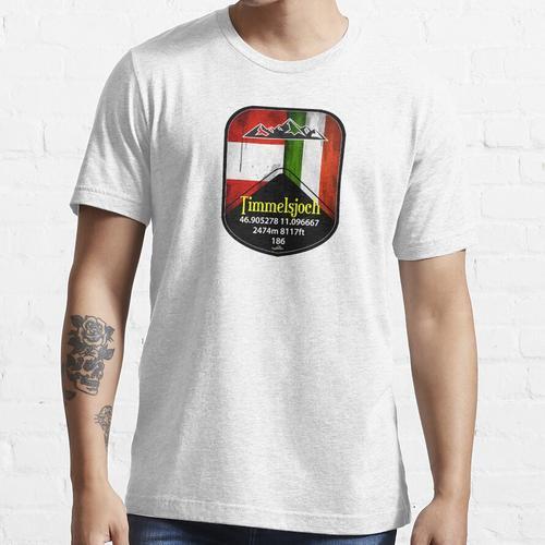 Timmelsjoch Austria Sticker Essential T-Shirt