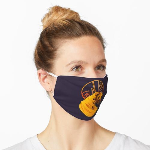 Blechdose Blitzkreis Maske