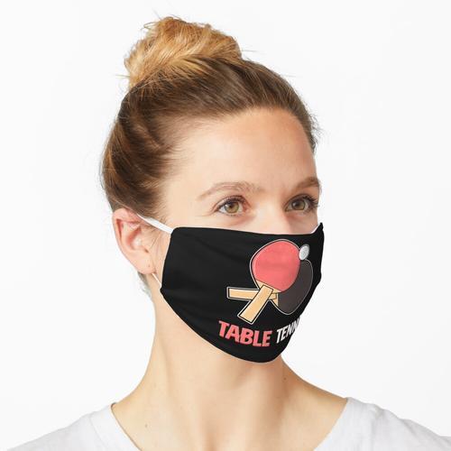 Tischtennis Tischtenniskelle Ball Sport Maske