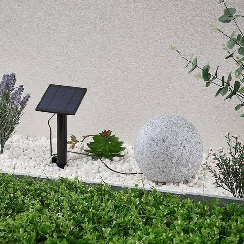 Lindby Hamela LED-Solar-Dekoleuchte, RGB, 20 cm