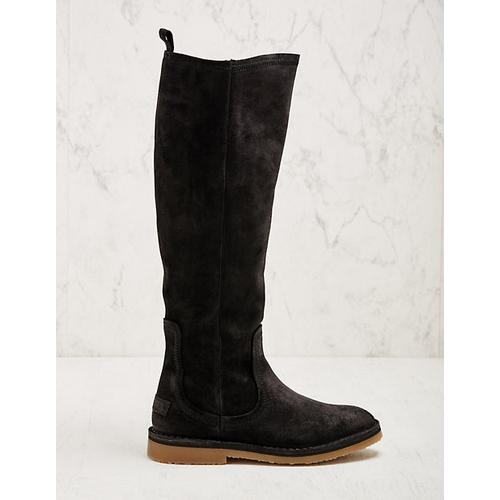 Shabbies Amsterdam Damen Stiefel Leonilla schwarz Boots
