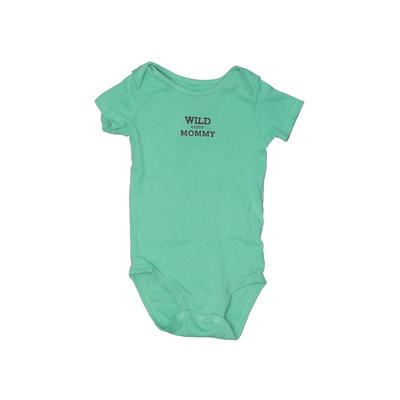 Carter's Short Sleeve Onesie: Gr...