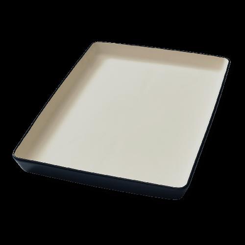 """Vorwerk Thermomix® Steingut-Form """"flache Backform Ben"""
